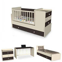 Люлька-кровать для новорожденных 4 в 1  Кроха от 0 до 15 лет