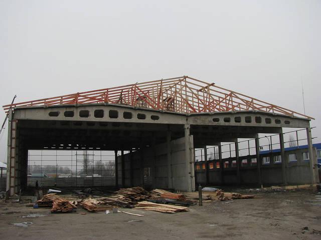 """Строительство производственного здания завода """"Арсенал"""" г. Сумы 5"""