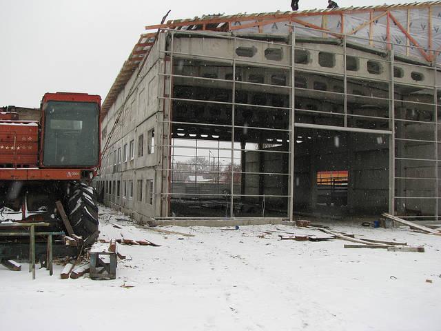 """Строительство производственного здания завода """"Арсенал"""" г. Сумы 8"""