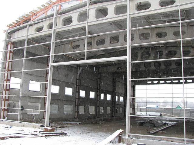 """Строительство производственного здания завода """"Арсенал"""" г. Сумы 9"""