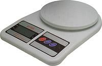 Кухонные весы  до 10 кг с батарейками, фото 1
