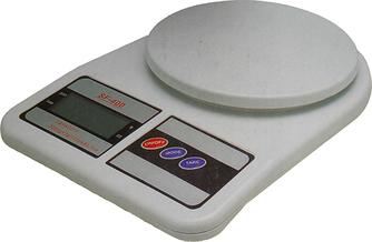 Кухонні ваги до 10 кг з батарейками