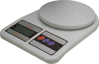 Кухонные весы  до 10 кг с батарейками