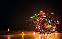 Гирлянда 300 Ламп качественный шнур МУЛЬТИ, фото 1