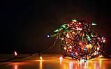 Гирлянда 220 Ламп качественный шнур МУЛЬТИ, фото 2