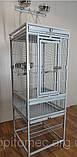 Вольер клетка для больших средних попугаев.47*47*136(213)см, фото 2