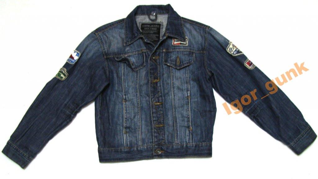 Куртка джинсовая CARS JEANS, 10, КАК НОВАЯ!