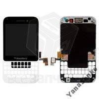 Дисплейный модуль для мобильного телефона Blackberry Q5, белый