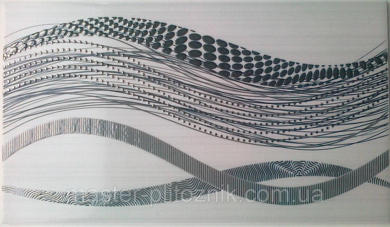 Плитка облицовочная декор Цунами Интеркерама