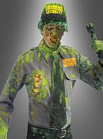 Карнавальный костюм зомби-охранника