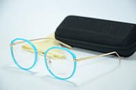 Оправа голубая с золотом 5067 c3, фото 1