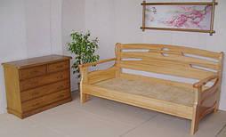 """Диван - кровать """"Луи Дюпон - 2"""". Массив - ольха."""