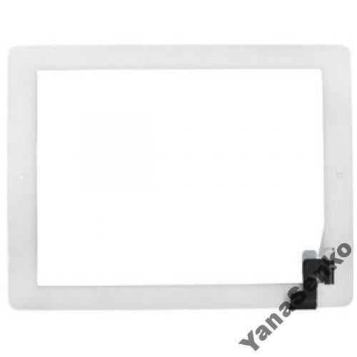 Apple iPad 2 белый с кнопкой Home емкостной тачскрин (сенсор)