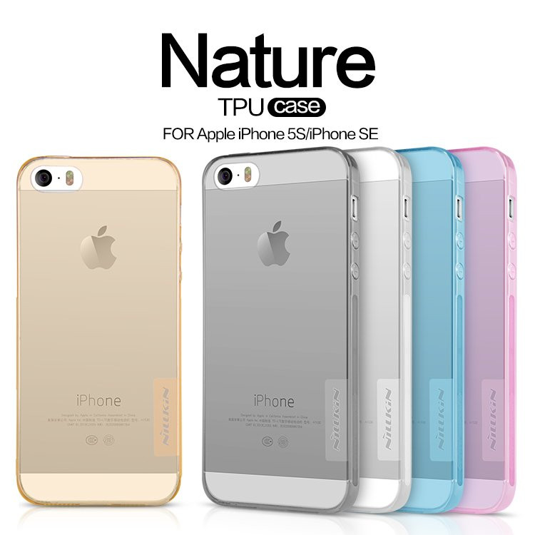 NILLKIN Nature iPhone 5 5s 5se ОРИГИНАЛ 3 ЦВЕТА