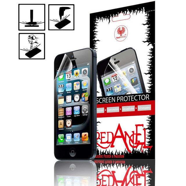 Противоударная защитная пленка для iPhone 4 Red Angel