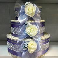 Свадебная коробка для денег Тортик