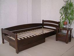 """Деревянная кровать """"Марта"""" с ящиком. Массив - сосна. 1"""