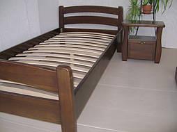 """Деревянная кровать """"Марта"""" с ящиком. Массив - сосна. 2"""