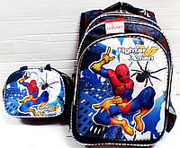 Рюкзак 3D ортопедический+ сумка  Dolchezza Spiderman  1601