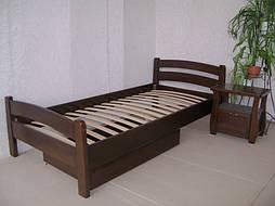 """Деревянная кровать """"Марта"""" с ящиком. Массив - сосна. 4"""