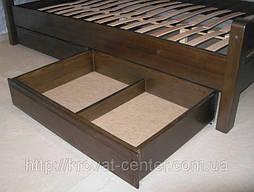 """Деревянная кровать """"Марта"""" с ящиком. Массив - сосна. 6"""