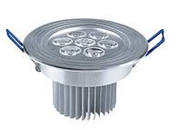 Светодиодный потолочный светильник AUKES  7W 6500К