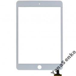 Apple iPad Mini, Mini 2 Retina белый с кнопкой Home емкостной тачскрин (сенсор)