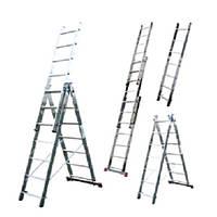 Аренда алюминиевых лестниц-стремянок