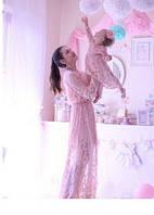 Эксклюзивный набор мама и дочка платья