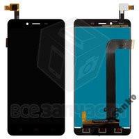 Дисплейный модуль для мобильного телефона Xiaomi Redmi Note 2, черный