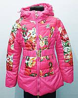 Куртка демисезонная для девочки. Цвет розовый