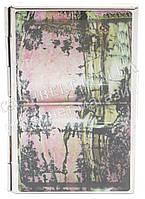 Прочная металичесская визитница для своих визиток art.рисунок природа, фото 1