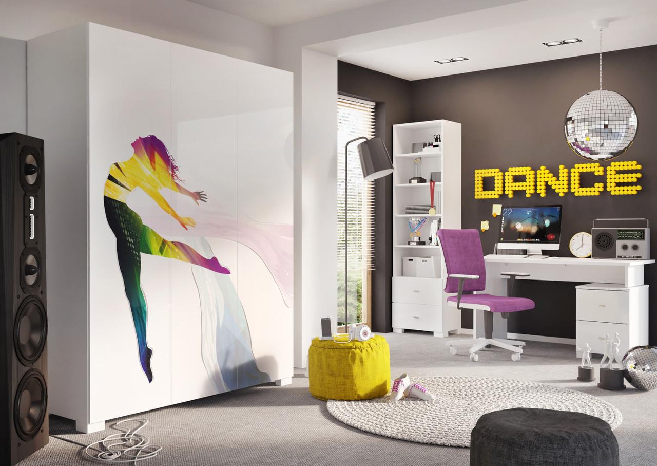 Комплект для молодежной комнаты Dance Colour, Meblik (Польша)