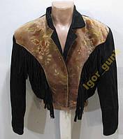 Куртка кожаная (плечи - 52 см), ХОР СОСТ!