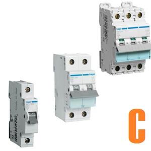 Автоматические выключатели Hager (характеристика С)