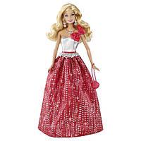 Кукла барби рождественские пожелания Holiday Wishes Barbie Mattel BBV50