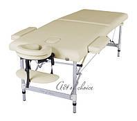 Двухсекционный алюминиевый массажный стол DIO