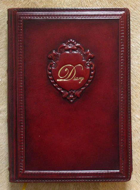 """Чудовий діловий щоденник бордового кольору """"Дайэри"""" - купити в Харкові, Одесі, Донецьку недорого"""