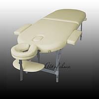 Двухсекционный алюминиевый массажный стол TES