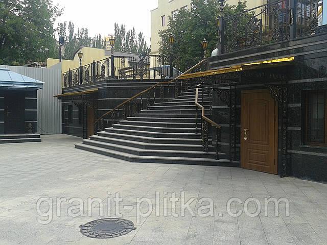 Гранитные лестницы и мраморные лестницы Киев Днепропетровск