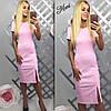 Платье с разрезом на ножке, фото 4