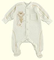 Комбинезон для новорожденных ТМ Ля-Ля, капитон (артикул 8Т028)