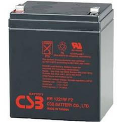 Аккумуляторная батарея CSB 12V 5AH (HR1221W) AGM ,F2