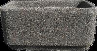 Вазон для сада «Атлант» серый гранит