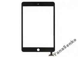 Apple iPad Mini, Mini 2 Retina черный с кнопкой Home емкостной тачскрин (сенсор)