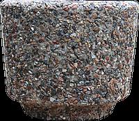 Вазон уличный «Орион» коричневый гранит