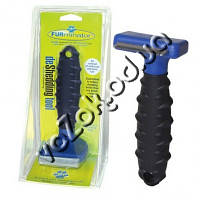 Щетка для груминга собак, кошек Furminator deShedding tool (Фурминатор) Fubnimroat лезвие 4,5 см, фото 1
