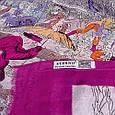 Ніжний жіночий шарф з бавовни 185 на 87 см ETERNO (ЭТЕРНО) ES0908-1-3 різнобарвний, фото 2