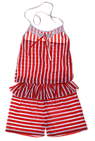 Платье-комбинезон летний