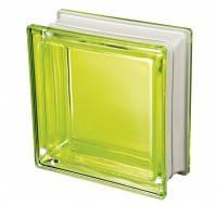Стеклоблок лимонный дизайнерский Q19 Colored Mendini Италия